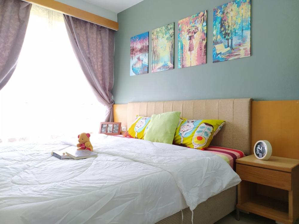 For RentCondoRama9, RCA, Petchaburi : [A241] 🔥🔥🔥 Special price 6,500 baht for rent I-House Laguna Garden RCA Condo (I-HOUSE LAGUNA GARDEN RCA) size 26 sqm. Building D, 5th floor, near MRT Rama 9 station. Only 5 minutes